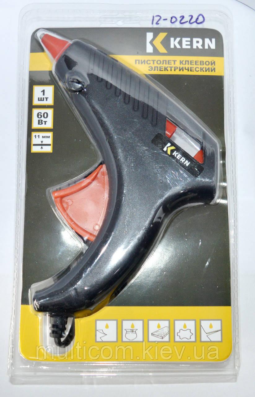 12-0220. Клеящий пистолет MI-01, под клей 11мм, 60W, черный