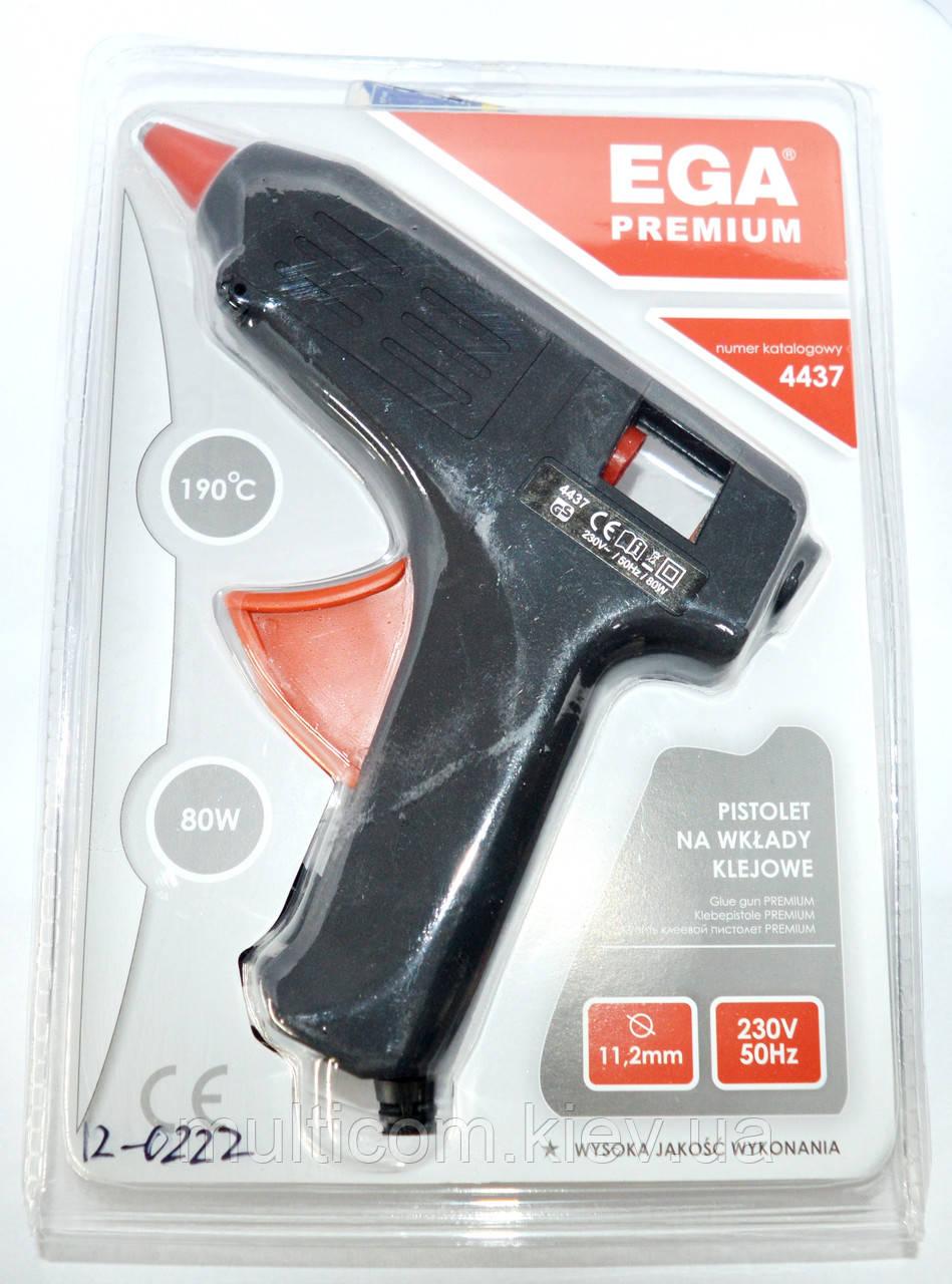 12-0222. Клеящий пистолет ME-02, под клей 11мм, 80W, черный