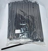 12-00-29. Термоклей тонкий 7мм, длина - 200мм, черный, 1кг.