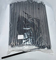 12-00-212. Термоклей диаметр 7 мм, длина - 200 мм, черный, в упаковке 1кг