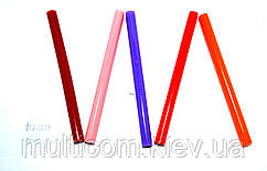 12-00-201. Термоклей диаметр 7 мм, длина - 100 мм, цветной, в упаковке 1кг