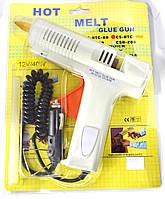 12-0209. Пистолет клеящий  12V 40W (CE) в блистере. питание от авто-прикуривателя