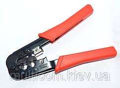 12-02-008. Инструмент обжимной для разъемов 4р4с; 6р4с (RJ-11)