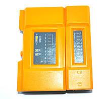 12-0959. Kабельный тестер витой пары + USB, TL-648