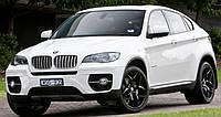 Дефлектор на капот (мухобойки) BMW Х6 (E71) 2008-2015