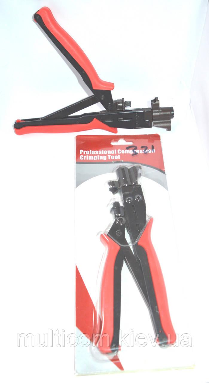 12-04-052. Инструмент обжимной для компрессионных разъемов F, BNC, RCA