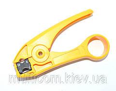 12-01-11. Инструмент HT-351 для зачистки коаксиального кабеля (RG-59, 6, 8, 11)