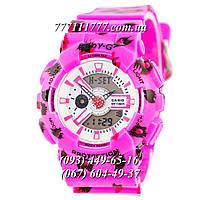 Часы женские наручные Casio Baby G BA-110 Pink-Fl