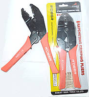12-04-005. Инструмент обжимной для коаксиального кабеля (RG-58; 59; 6), R'Deer, RT-230PA