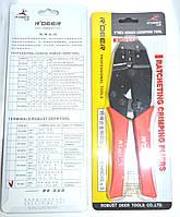 12-0368. Клещи R'Deer RT-301Н для опрессовки изолир.клемм 0,5-6мм3