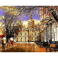 Картина по номерам Дождь Весна Лавра худ Сергей Брандт Turbo VP-500