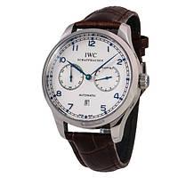 IWC Portuguese Automatic 7 Day Power Reserve White Titanium механические наручные часы ААА класса