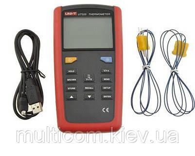 17-03-301. Цифровой термометр UNI-T UT-325
