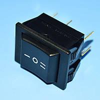 Выключатель AE-C1570ALAAD (RS203) черный 2-группы ON-OFF-ON  Arcolectric