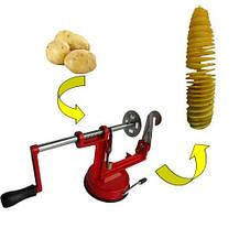 Машинка для різання картоплі спіраллю Spiral Potato, фото 3