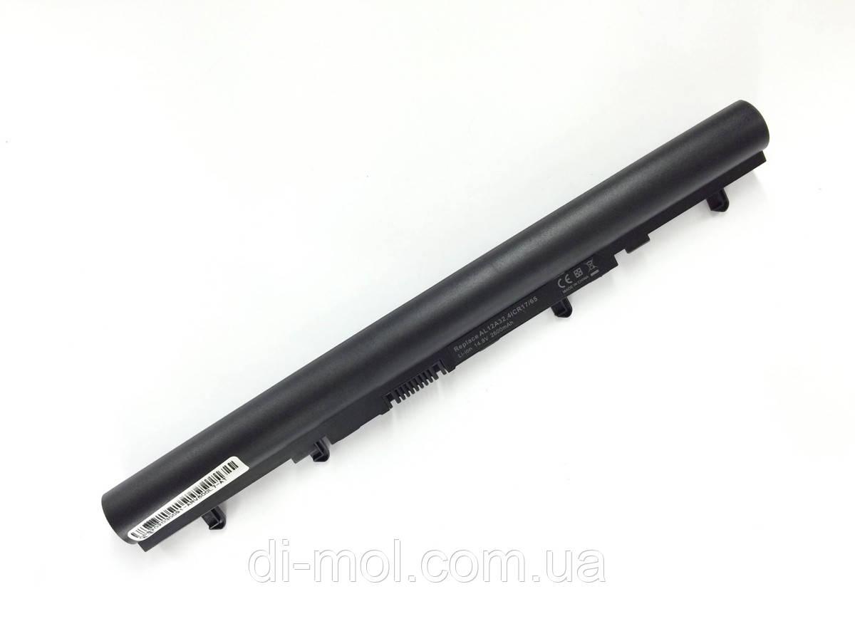 Аккумуляторная батарея для Acer Aspire V5-431 series, black, 2600mAhr 14.4-14.8v
