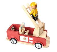 """Деревянная игрушка """"Пожарная машина"""", Plan Toys"""