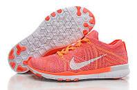 Кроссовки женские Nike Free Run 5.0 (найк фри ран, кроссовки для бега, nike free) коралловые