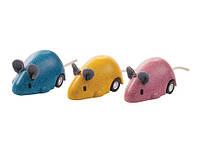 """Деревянная игрушка """"Бегающая мышка"""", PlanToys"""