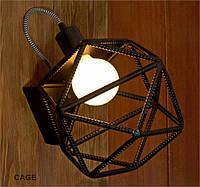 Настенный светильник из арматуры