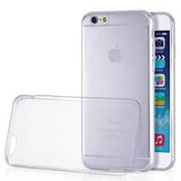 Силиконовый чехол (силиконовая накладка, бампер) Ultra-thin на IPhone 6 Plus Clean Grid Transparent