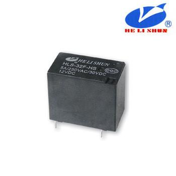 HLS-32F РЕЛЕ (12VDC) ток-10A / контакты-1С