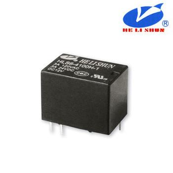 HLS6-4100H-1 РЕЛЕ (12VDC) ток-3A / контакты-1С
