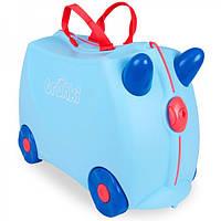 Детский чемоданчик на колесах Trunki George Print Handles TRU-0166N