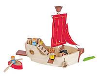 """Деревянная игрушка """"Пиратский корабль"""", Plan Toys"""
