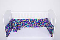Защитный бортик для детской кроватки Индия LC