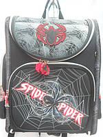 Детский школьный рюкзак для мальчика Spider ранец портфель недорого плотный текстиль оптом 7 км Г1575/2439