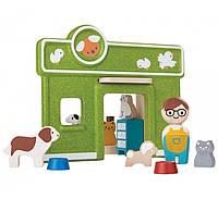 """Деревянная игрушка """"Содержание домашних животных"""", Plan Toys"""