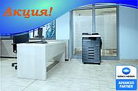 Акционный комплект Konica Minolta bizhub 226 + крышка оригиналов + дуплекс + сетевая карта + опц. панель