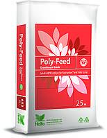 Поли-Фид Фолиар (Poly-Feed) 15-7-30+2MgO+ME - водорастворимый комплекс удобрений, 25 кг, Haifa, Израиль