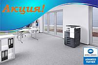 Акционный комплект Konica Minolta bizhub C227 + тонеры + SmartScanLight ключ + крышка оригиналов + клавиатура