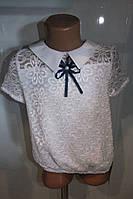 Блузка на девочку белая Польша  рост 146.