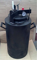 Черный электрический автоклав большой (Харьков) винт на 35 банок по 0,5 л/на 20 банок по 1 л DI