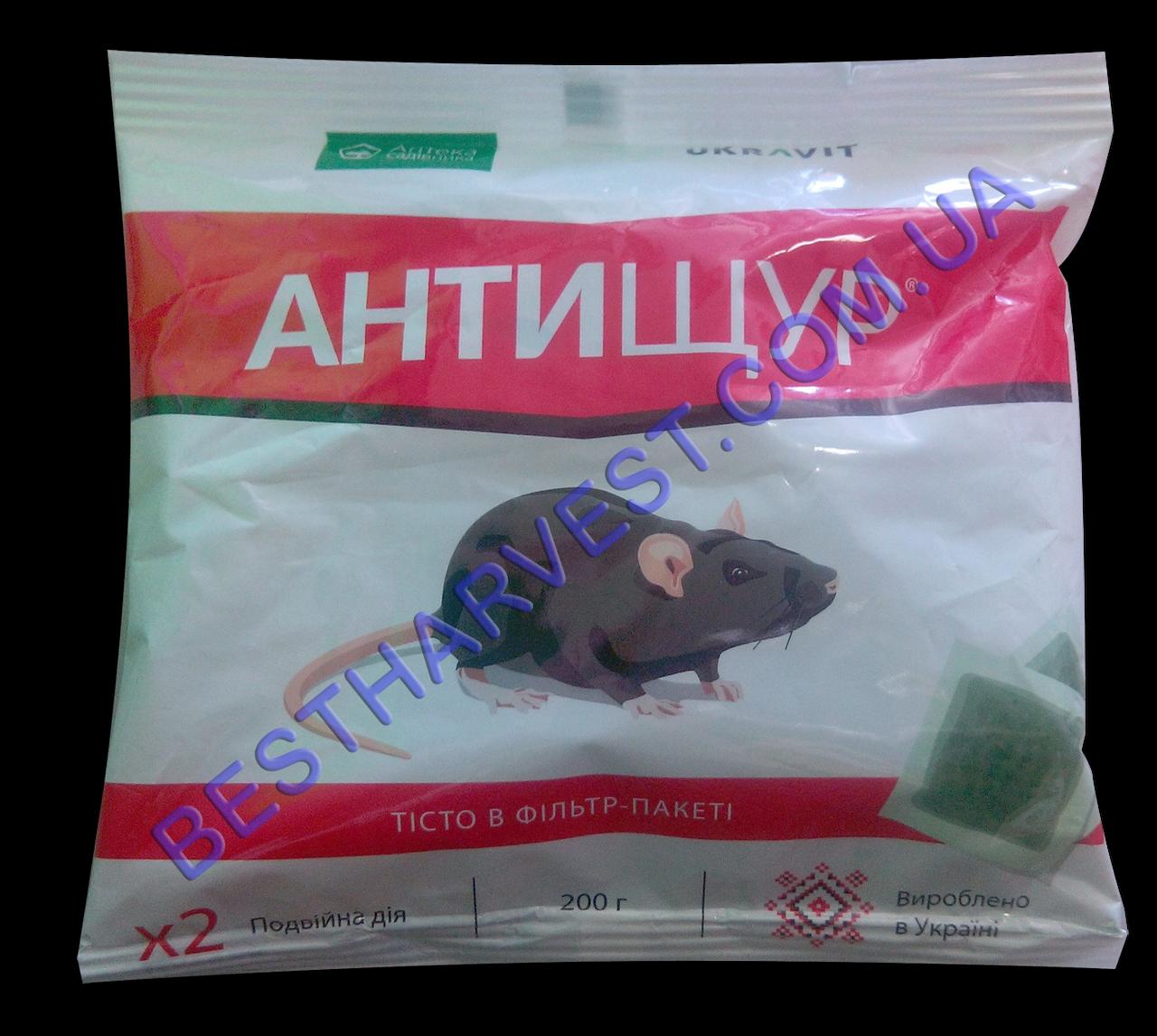 Антищур тесто от крыс 200 г оригинал