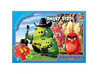 "Пазлы ""Angry Birds"" B001028 ""G-Toys"", 35 элементов"