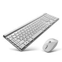Беспроводной  набор клавиатура и мышь CMMK-950W (white)