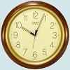 Часы Rikon 10751 Brown Wood Настенные