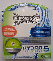 Schick (Wilkinson) HYDRO 5 Sensitive (Шик, Вилкинсон) 8 штук в упаковке оригинал