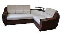 Угловой диван Меркурий, раскладка дельфин со склада в Киеве, мягкая мебель фабрика Юдин