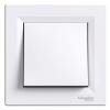 Выключатель 1-клавишный SCHNEIDER Asfora белый EPH0100121
