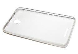 Силиконовый чехол Ultra-thin на Lenovo A5000 Clean Grid Transparent