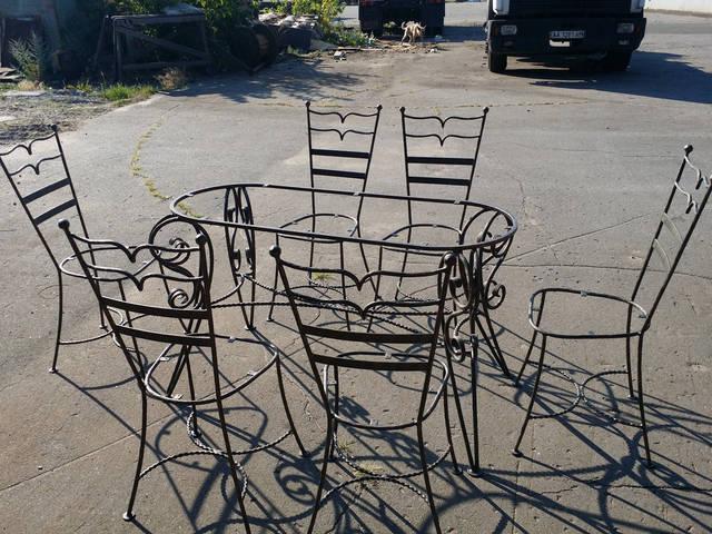 Кованая мебель в Киеве