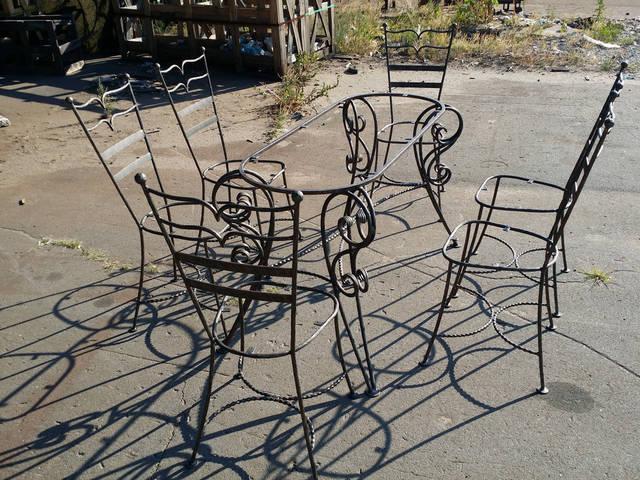 Кованая мебель в Киеве 1