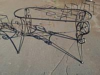 Кованый стол арт км 26, фото 1