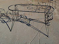 Кованый стол арт км 26