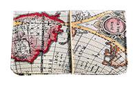 """Портмоне для документів """"Бон вояж"""", Ейвон Карта Світу, Avon Bon voyage, 48451"""